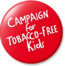 Campaign for Tobacco-Free Kids red button